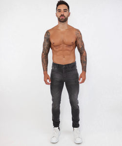 Grey Skinny Jeans Small Repaired