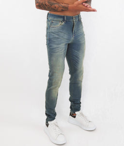 Tint Washed Slim Fit Jeans