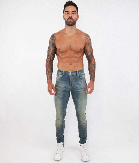 Tint Washed Skinny Jeans