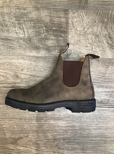 Blundstone 585 Rustic Brown Round Toe Boot