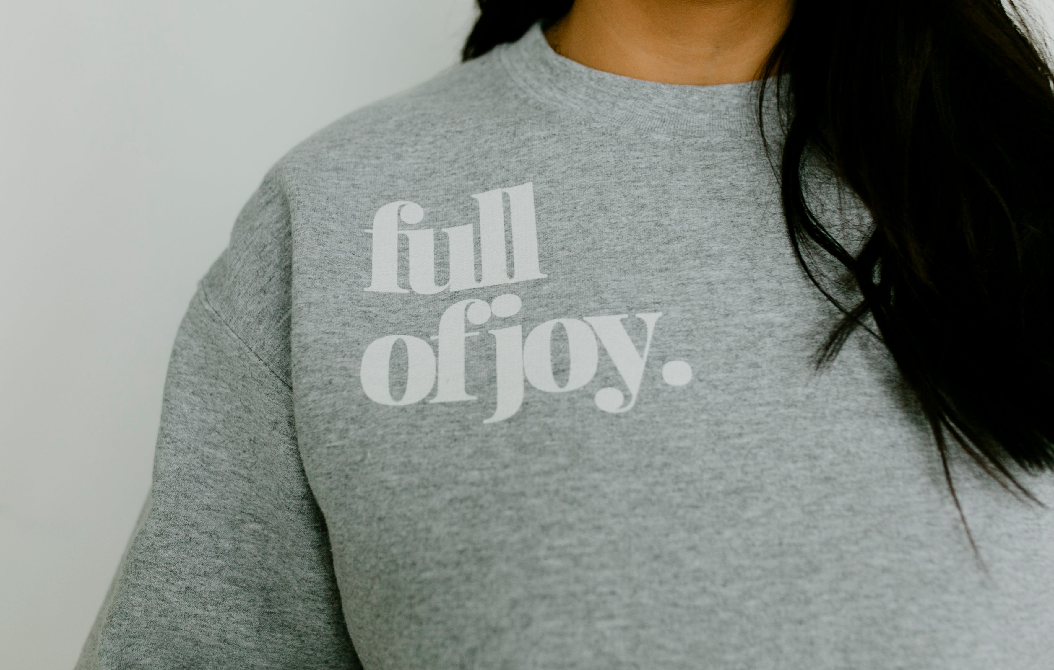 cloud sweatshirt - grey