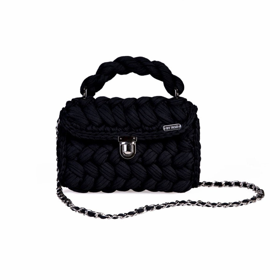 "Knitted Bag ""Black"" - Pregomesh"