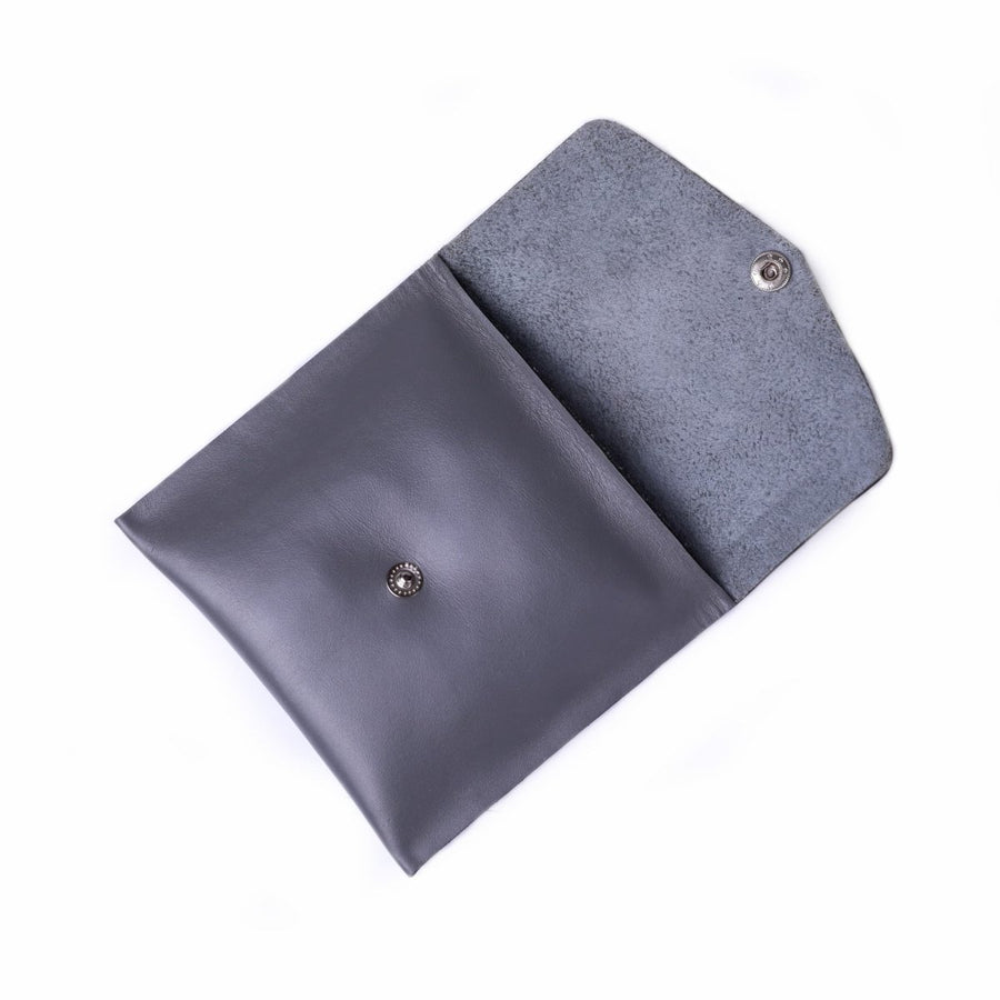 Square Leather Pouch