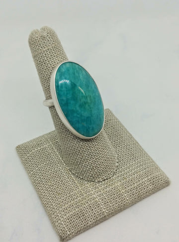 One of a Kind Amazonite Ring - MARTINIJewels