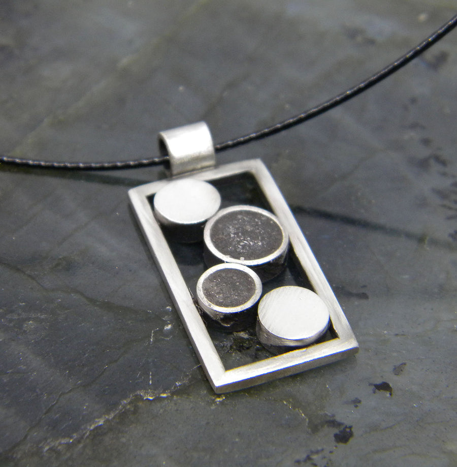 Urban Legend - Framed Pendant - MARTINIJewels