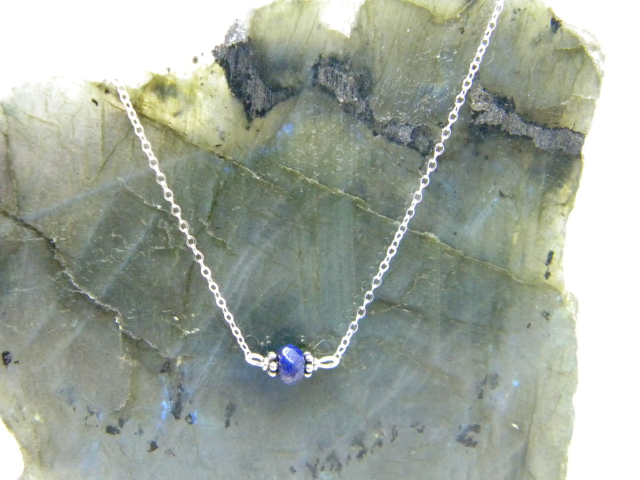Natural Gemstone Healing Necklace - Lapis Lazuli - MARTINIJewels