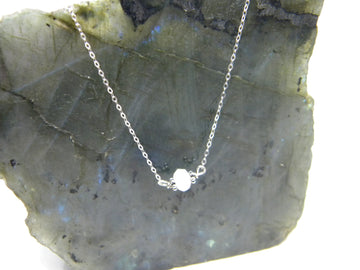 Natural Gemstone Healing Necklace - Moonstone