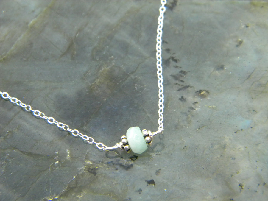 Natural Gemstone Healing Necklace - Amazonite - MARTINIJewels