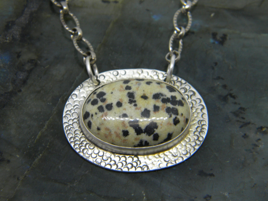 One of a Kind - Dalmatian Jasper Pendant - MARTINIJewels