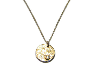North Star Necklace - 14 kt Gold Filled Necklace - MARTINIJewels