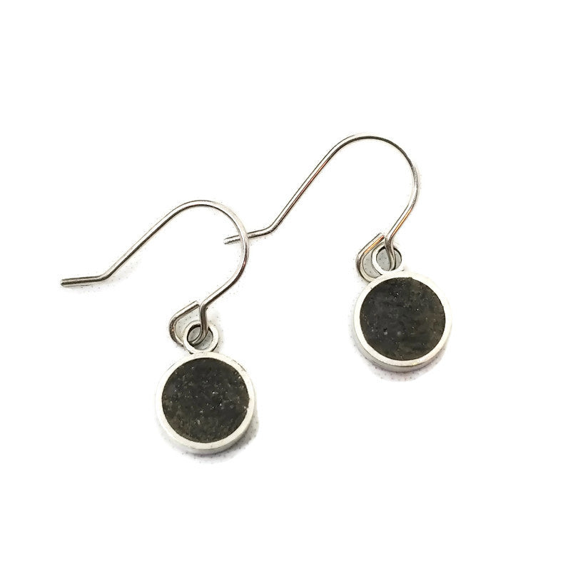 Urban Legend Collection - Simple Tube Dangle Earrings - V1 - MARTINIJewels