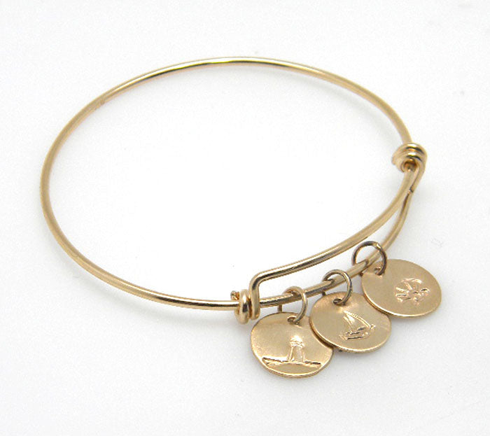 Adjustable Bracelet - Sterling Silver or 14K Gold Filled - MARTINIJewels