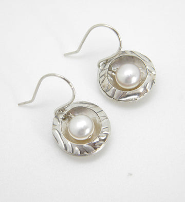 Pearls Collection - Nested Pearl Earrings - MARTINIJewels