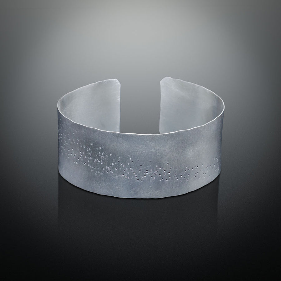 Andromeda I Collection - Recycled Sterling Silver Cuff