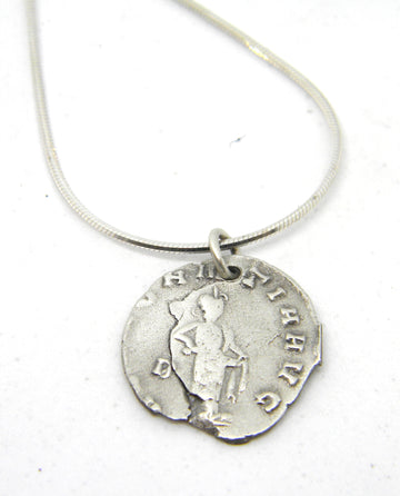 Roman Coins Collection - Simple Sterling Coin Pendant - MARTINIJewels