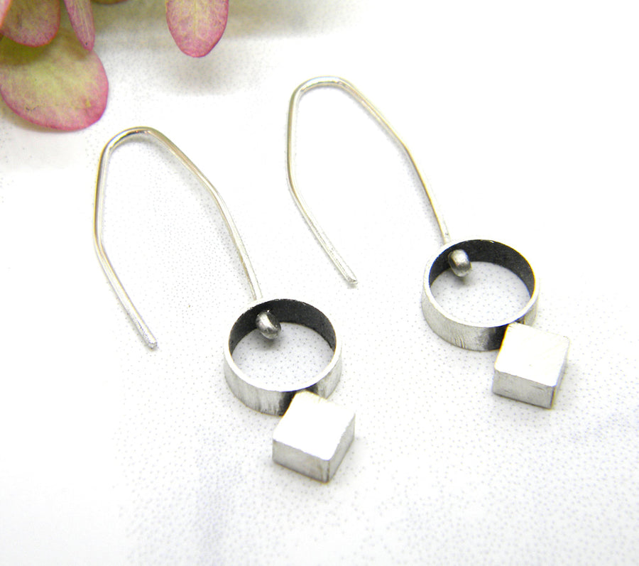 Minimalism Collection - Dangle Earrings - V14 - MARTINIJewels