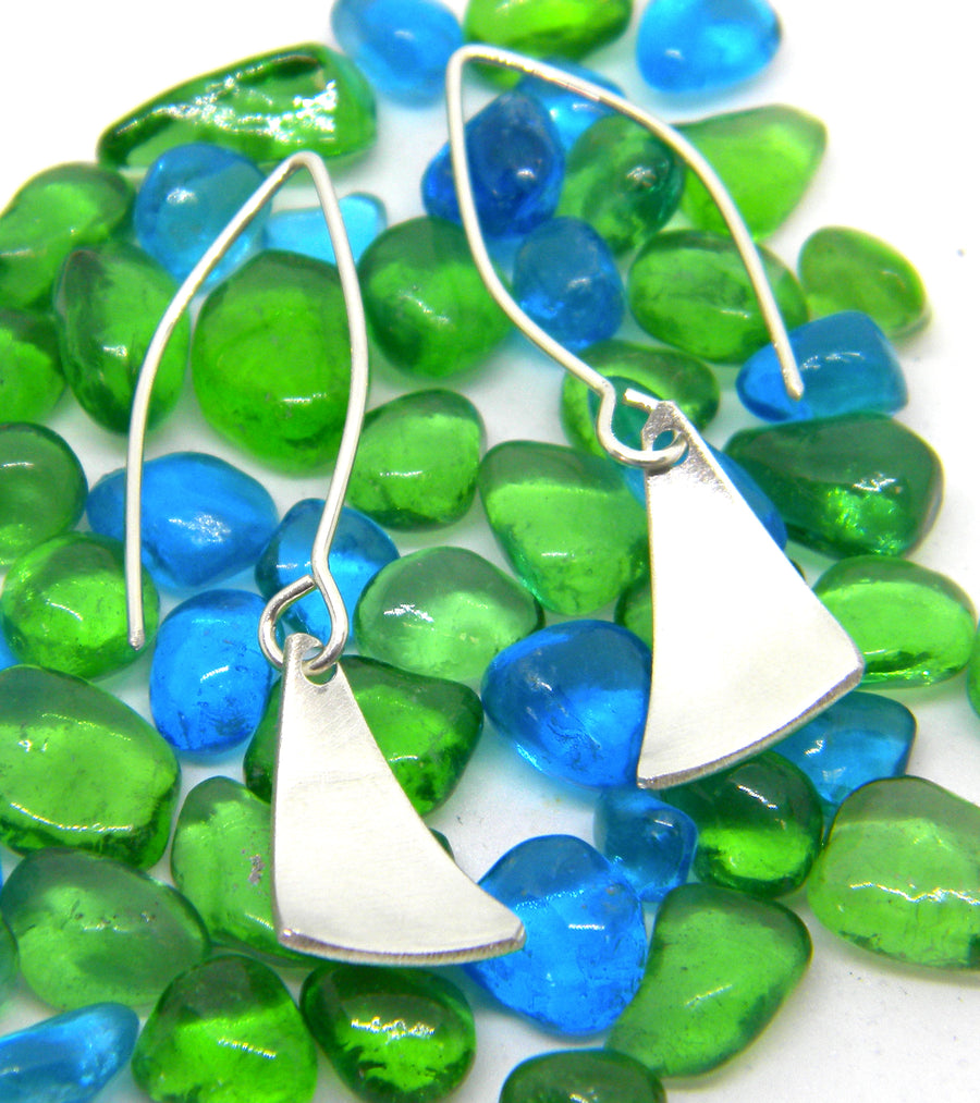 Americas Cup Collection - Small Sail Earrings