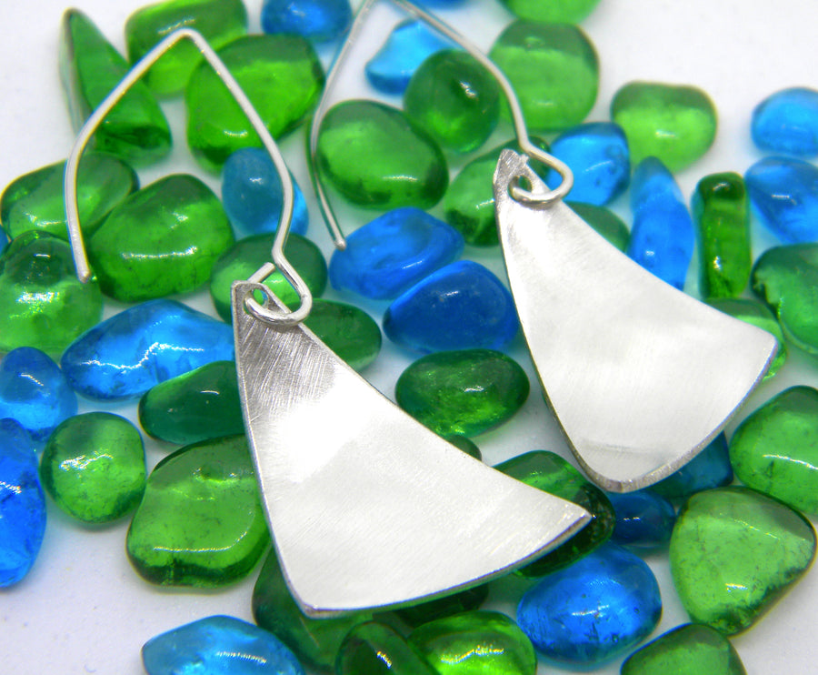Americas Cup Collection - Large Sail Earrings - MARTINIJewels