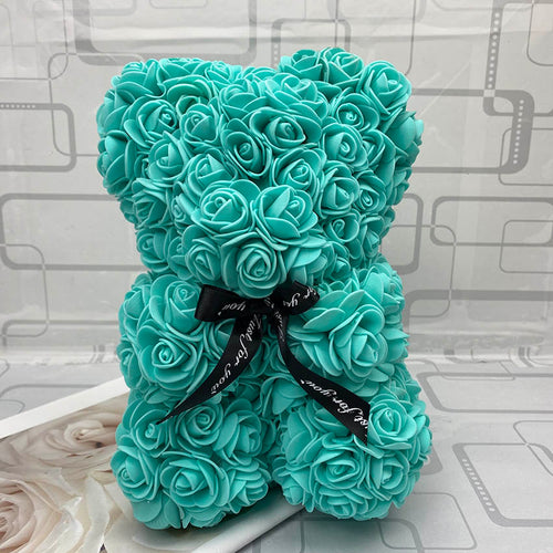 RoseBear™ Mini – Tiffany Blue - RoseBears™ Official Store