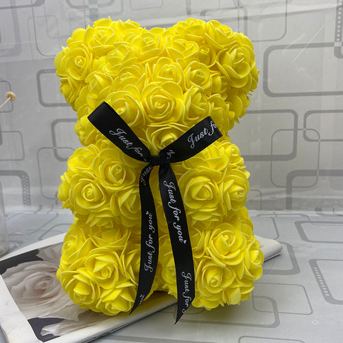 RoseBear™ Mini – Yellow - RoseBears™ Official Store