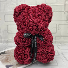 Load image into Gallery viewer, RoseBear™  Mini – Wine Red - RoseBears™ Official Store
