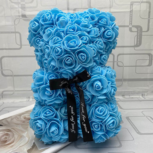 RoseBear™ Mini – Light Blue - RoseBears™ Official Store