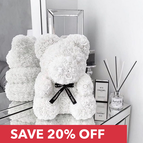 RoseBear™ Mini – White - RoseBears™ Official Store