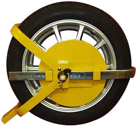 Car / Van /  WHEEL CLAMP SAFETY LOCK /  O TYPE
