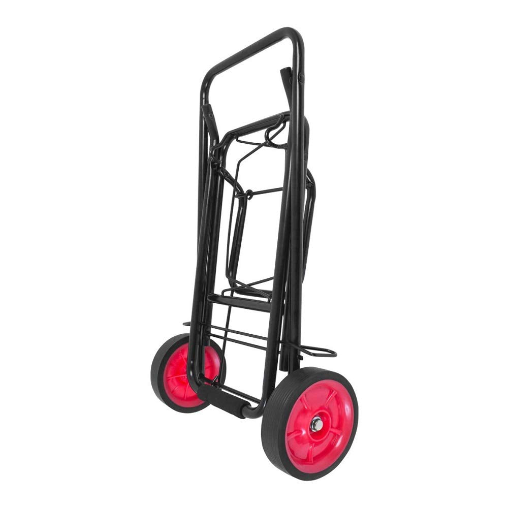 Camping/ Festival Trolley Black Folding Travel Truck Luggage Cart