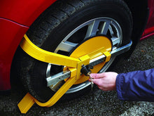 Load image into Gallery viewer, Car / Van /  WHEEL CLAMP SAFETY LOCK /  O TYPE