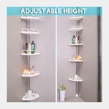 4 Tier Telescopic Shower Corner Bathroom Caddy - 1032