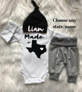 Newborn Boy Coming Home Outfit/Baby Shower gift