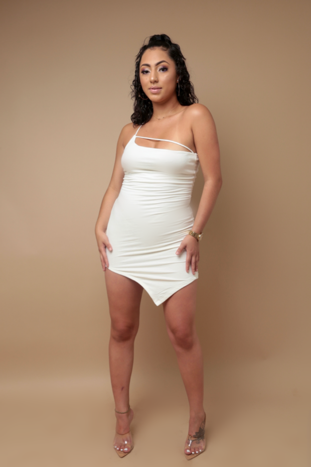 Simple Slay mini dress
