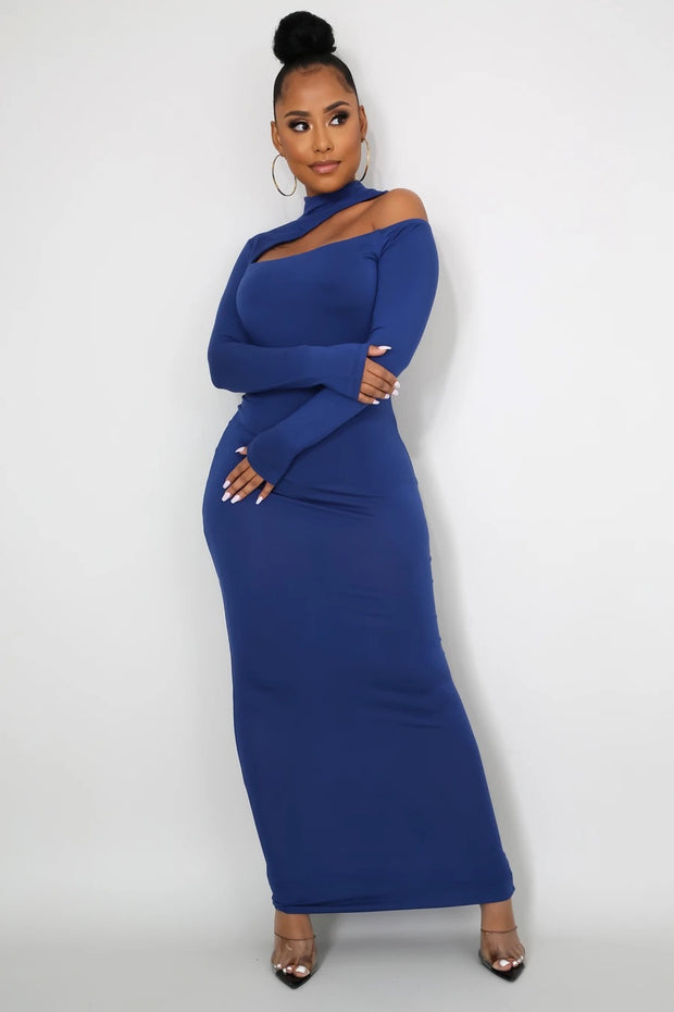 Blue Stay ready dress