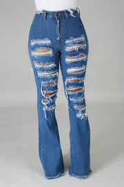 High standards jeans