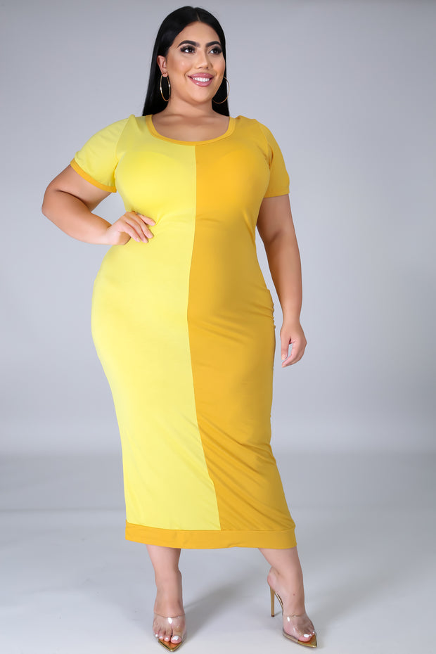 Curve My World Dress