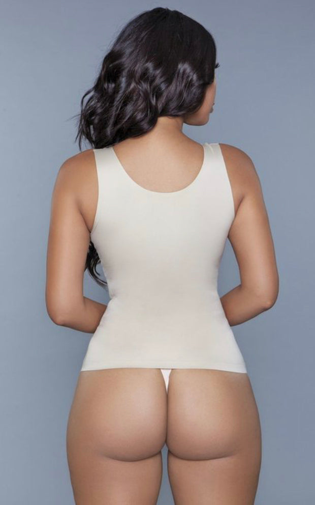Slay bodyshaper with hooks