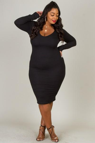 All Curve Dress - Slay Brand llc