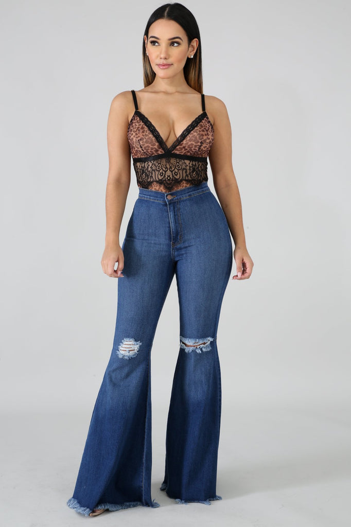 Queen Flare Jeans - Slay Brand llc