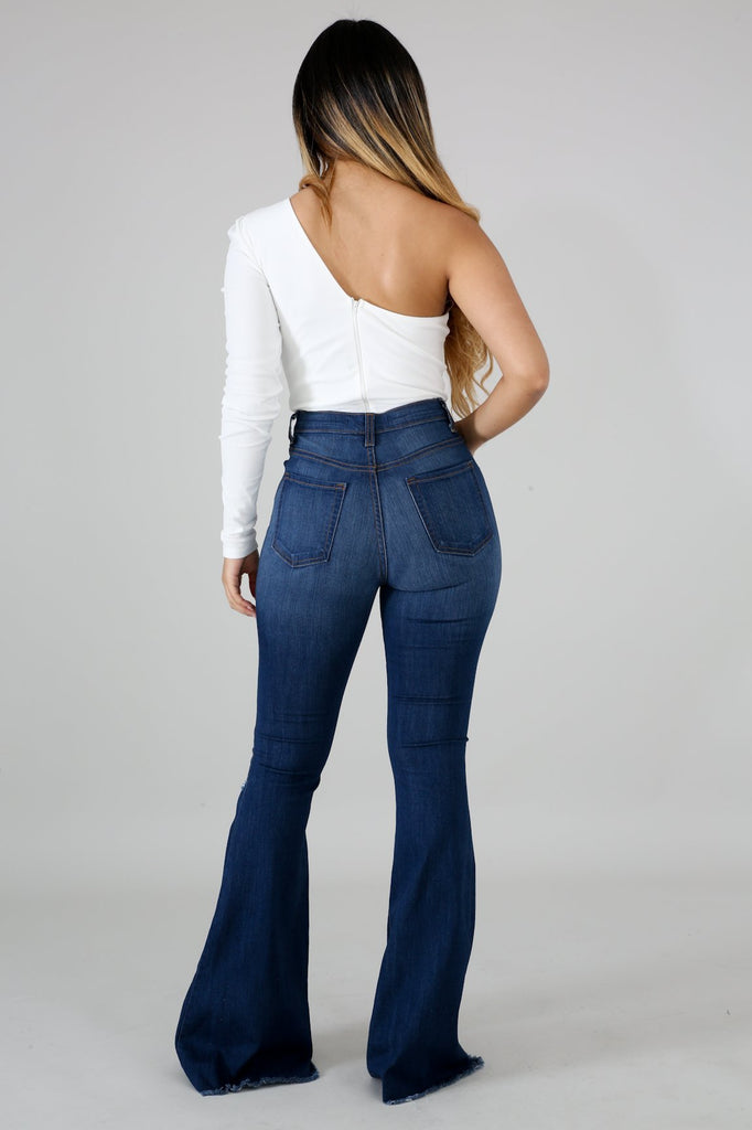 Distressed Bell jeans - Slay Brand llc