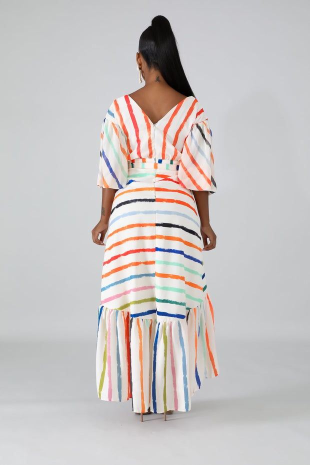 Water color maxi dress - Slay Brand llc