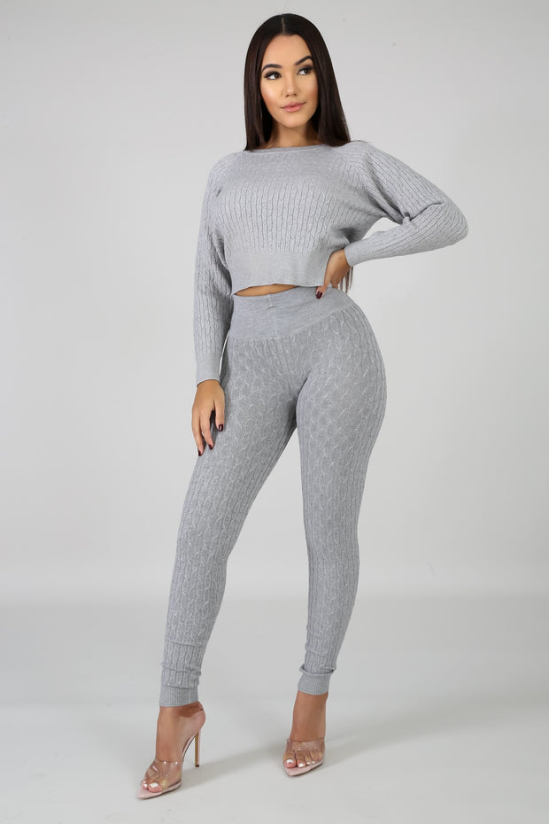 Fall in line jogger set