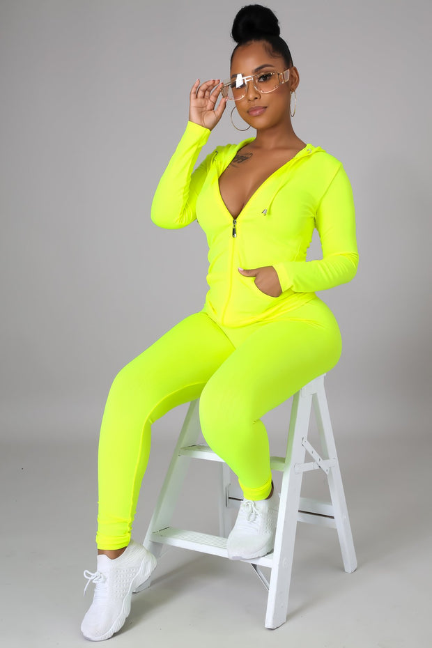 Neon love my curves set
