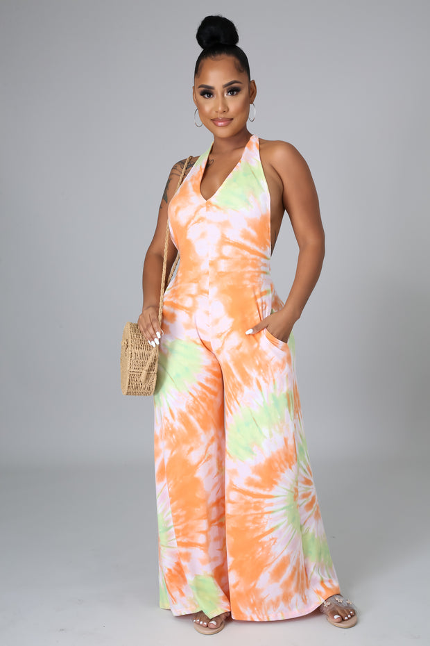 Sherbet Bliss Jumpsuit