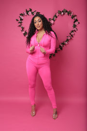 Plus size love my curves set