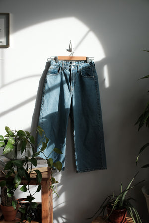 Ankle flare denim