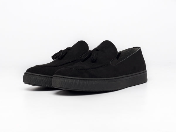 Moccasin Black - Shoes