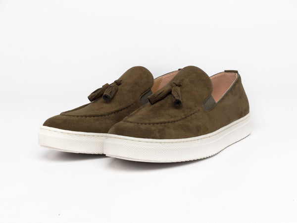 Moccasin Khaki Shoes