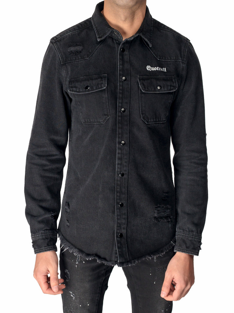 Quotrell Miami Denim Shirt