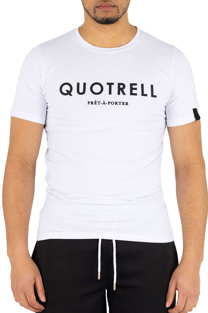 Quotrell Basic T-shirt White